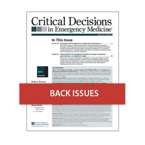 Critical Decisions in Emergency Medicine Back Issues (Individual)