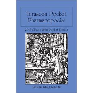 Tarascon Pocket Pharmacopoeia 2017 Shirt Pocket 18th Ed. (AMAZON)