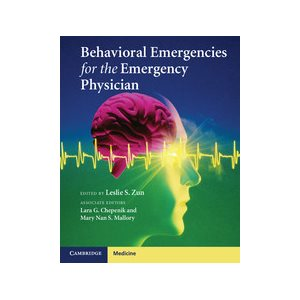 Behavioral Emergencies for the Emergency Physician (AMAZON)