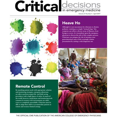 Critical Decisions Vol 31 Issue 4 April 2017