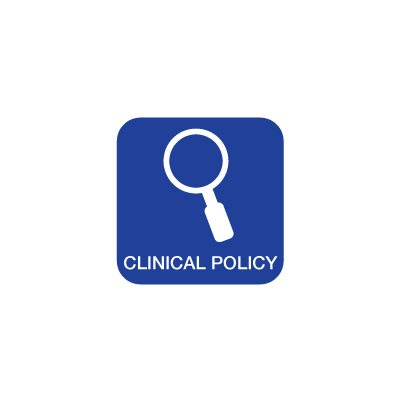 Clinical Policy: Critical Issues in the Evaluation and Management of Adult Patients With Suspected