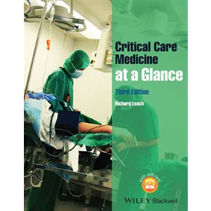 Critical Care Medicine at a Glance, 3rd Ed. (AMAZON)