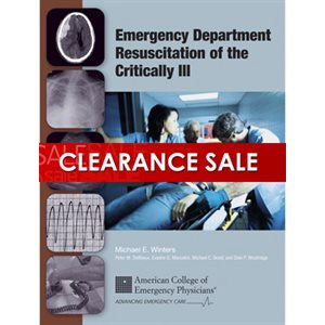 Emergency Department Resuscitation of the Critically Ill, 1st Ed.