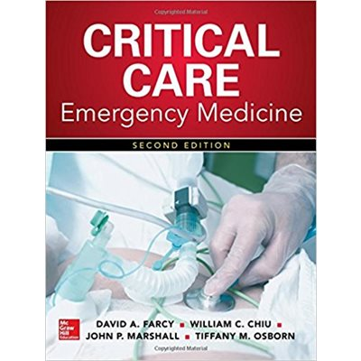 Critical Care Emergency Medicine, 2nd Ed (AMAZON)