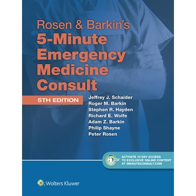 Rosen and Barkin's 5 Min EM Consult, 5E (AMAZON)