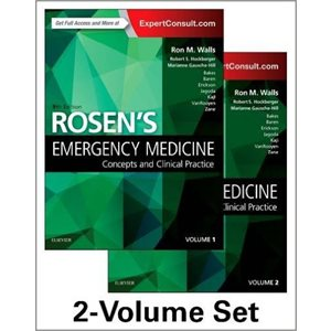 Rosen's Emergency Medicine: Concepts and Clinical Practice: 2-Volume Set, 9E (AMAZON)