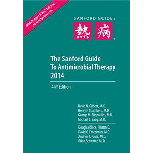 The Sanford Guide to Antimicrobial Therapy 2014 Library Ed. (7x11)