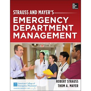 Strauss and Mayer's Emergency Department Management (AMAZON)