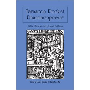Tarascon Pocket Pharmacopoeia 2017 Deluxe (Lab Coat Ed.) 18th Ed. AMAZON