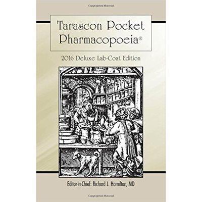 Tarascon Pharmacopoeia 2016 Deluxe Lab Coat, 30th Ed. (AMAZON)