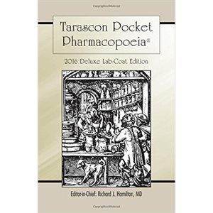 Tarascon Pharmacopoeia 2016 Deluxe Lab Coat, 30th Ed. (AMAZON)