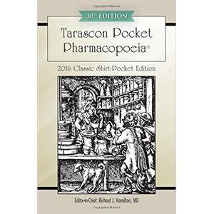 Tarascon Pocket Pharmacopoeia 2016 Classic Shirt-Pocket Edition 30th Edition (AMAZON)