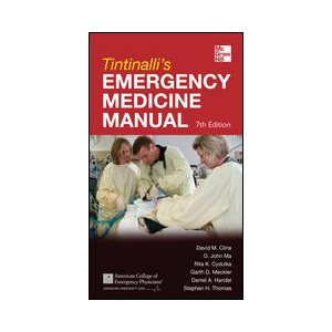 Tintinalli's Emergency Medicine Manual, 7th Ed., Pocket (AMAZON)