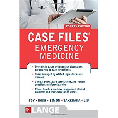 Case Files Emergency Medicine, Fourth Edition (AMAZON)