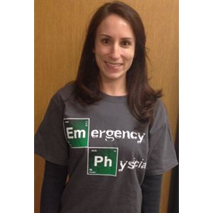 Emergency Physician T-Shirt -Medium