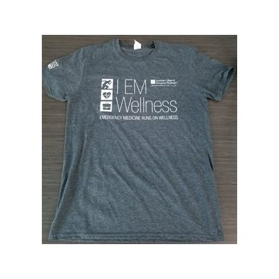 Mens Short Sleeve Wellness T-shirt- LARGE