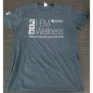 Mens Short Sleeve Wellness T-shirt SMALL