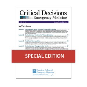 Critical Decisions in EM- Fall 2014 Neurologic Edition