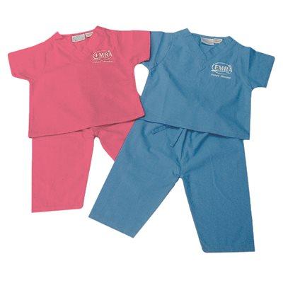 """EMRA """"Future Member"""" Baby Scrubs-Pink"""